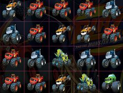 Blaze Monsters Machines Crush