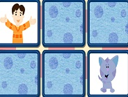 Blue's Matching Game