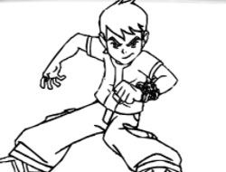 BTS Ben 10 Coloring Book