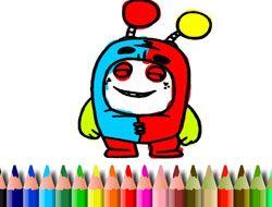 BTS Oddbods Coloring