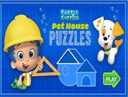 Bubble Guppies Pet House Puzzles