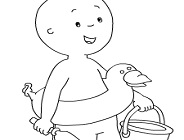 Free Printable Caillou Coloring Pages For Kids | 140x184