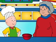 Caillou Cooking