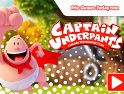 Captain Underpants Character Connection
