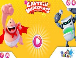 Captain Underpants Jelly Match
