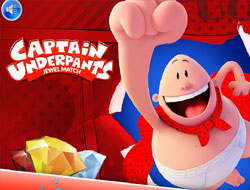 Captain Underpants Jewel Match