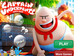 Captain Underpants Math Quiz
