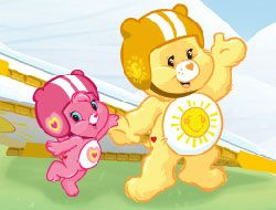 Care Bears Hangin with Funshine