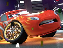 Cartoon Cars Hidden Letters