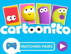 Cartoonito Matching Pairs