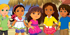 Dora and Friends Games