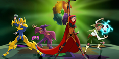 Mysticons Games