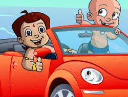 Chhota Bheem Sports Car