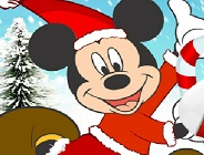 Christmas Mickey Dress Up
