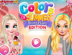 Colors Of Summer Princesses Edition
