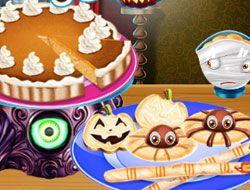 Cooking Halloween Food
