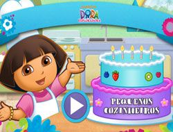Cooking with Dora