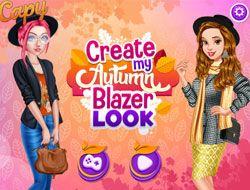 Create My Autumn Blazer Look