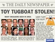 CSI: Tugboat Thug