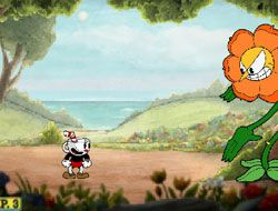 Cuphead vs Plants: Cagney Carnation