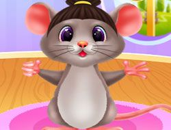 Cute Mouse Caring And Dressup