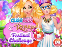 Cutezee And Rapunzel Festival Challenge