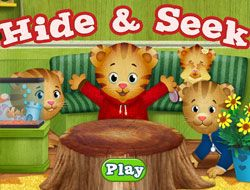 Daniel Tiger Hide and Seek
