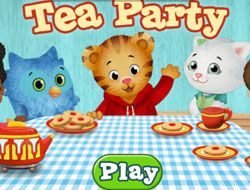 Daniel Tiger Tea Party