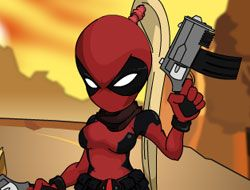 Deadpool Girl Dress Up