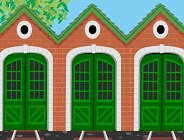 Decorate Tidmouth Sheds