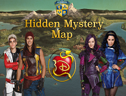Descendants Hidden Mistery Map