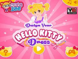 Design a Hello Kitty Dress