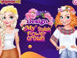 Design My Stylish Flower Crown