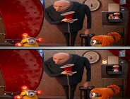 Despicable Me 2 Spot the Difference