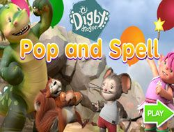 Digby Dragon Pop and Spell