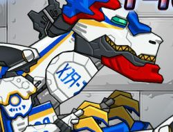 Dino Robot T-rex Cops