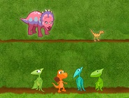 Dinosaur Train Pinecone Pass
