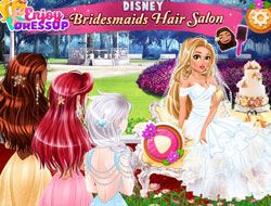 Disney Bridesmaids Hair Salon
