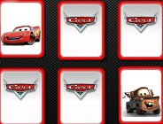 Disney Cars Memory Cards