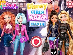 Disney Girls Moto Mania