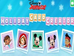 Disney Junior Card Creator