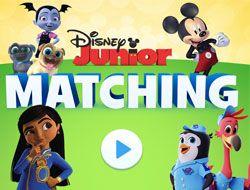 Disney Junior Matching
