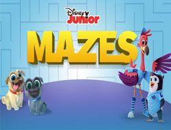 Disney Junior Mazes