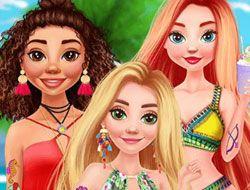 Disney Princess Tattoo Design