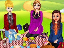 Disney Princesses Autumn Outing