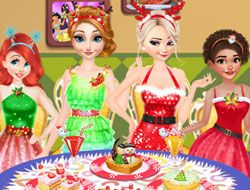 Disney Princesses Christmas Dinner