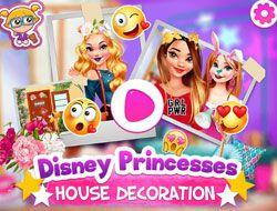 Disney Princesses House Decoration