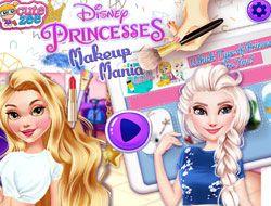 Disney Princesses Makeup Mania
