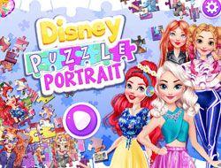 Disney Puzzle Portrait