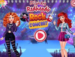 Disney Redheads Rock Concert